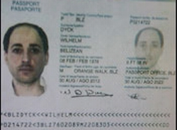 The convicted felon Rafic Labboun is Wilhelm Dyck on forged Belizean passport