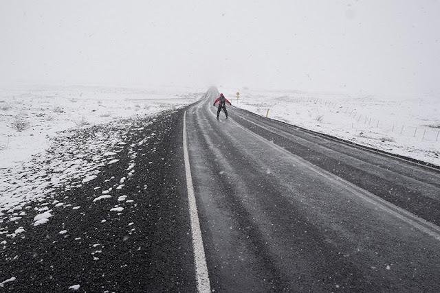 Kartki z podróży - Autostopem po Islandii