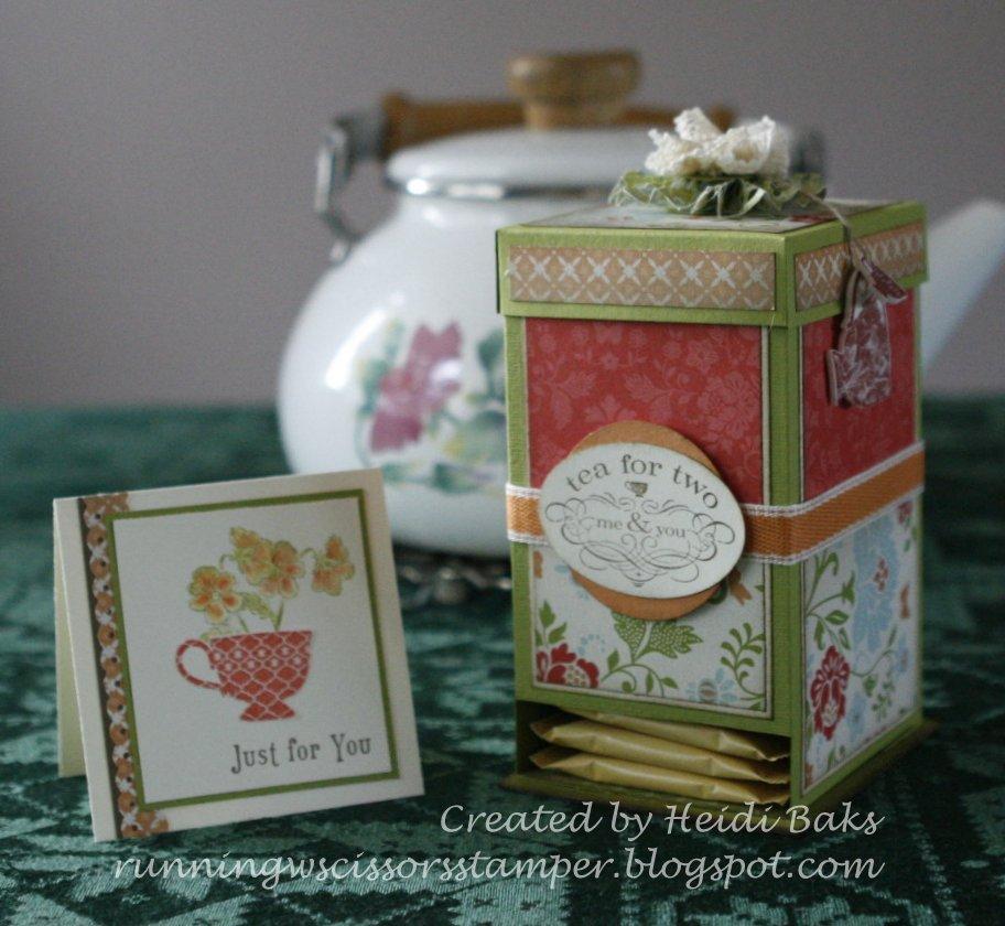 Как оформить коробку чая