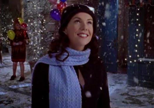 Lorelai Gilmore Smells Snow