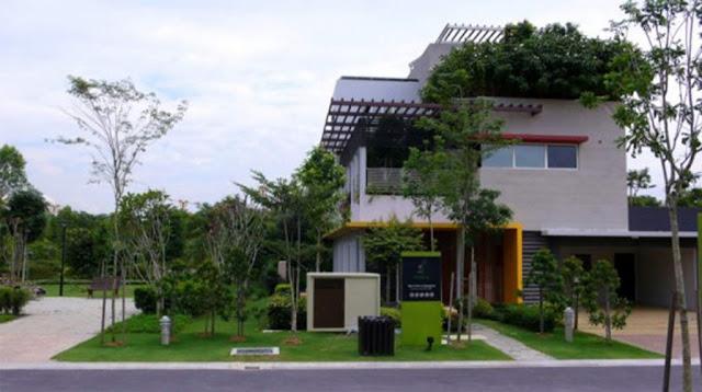 Modern Tropical Home Design Garden