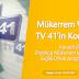 Podolog Mükerrem Vatansever TV 41'in Sağlık Olsun Programı'na Konuk Oldu