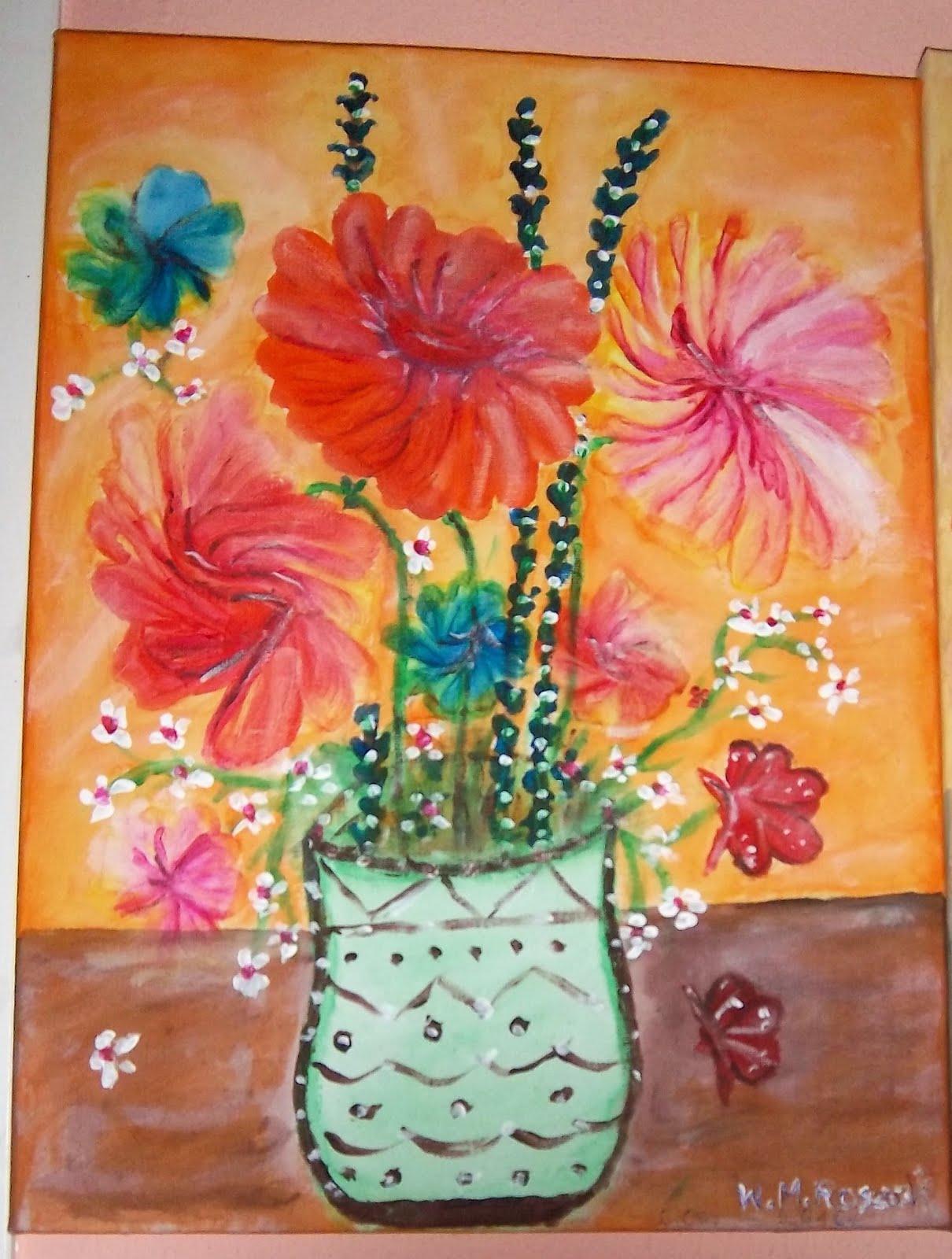 Painting by Wanda Maria Roszak