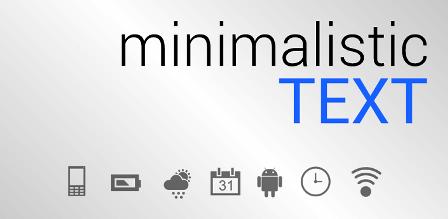 Minimalistic Text pro apk