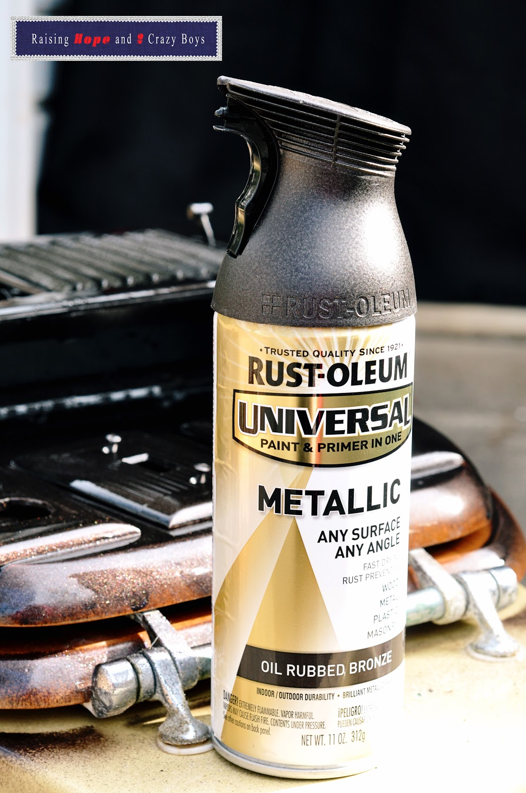 rust oleum metallic spray paint enter rust oleum 39 s universal. Black Bedroom Furniture Sets. Home Design Ideas