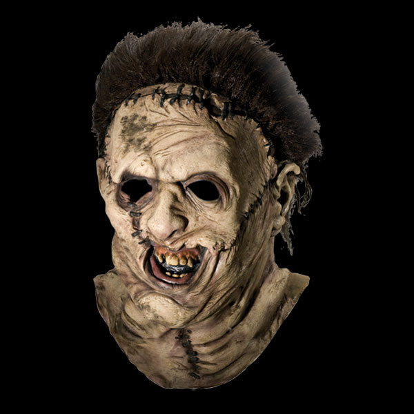Realistic halloween horror masks at leatherface chainsaw massacre horror - Masque halloween film ...