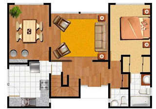 Planos de casas modelos y dise os de casas imagenes de for Como disenar una casa de dos pisos
