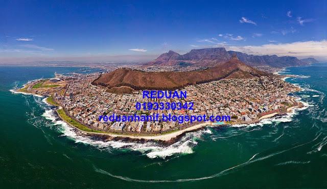 Capetown. Tempat yang akan saya lawati selama hampir seminggu.