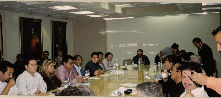 EL MOVIMIENTO 17 DE MARZO EN LA COMISIÓN DE HACIENDA AÑO 2004