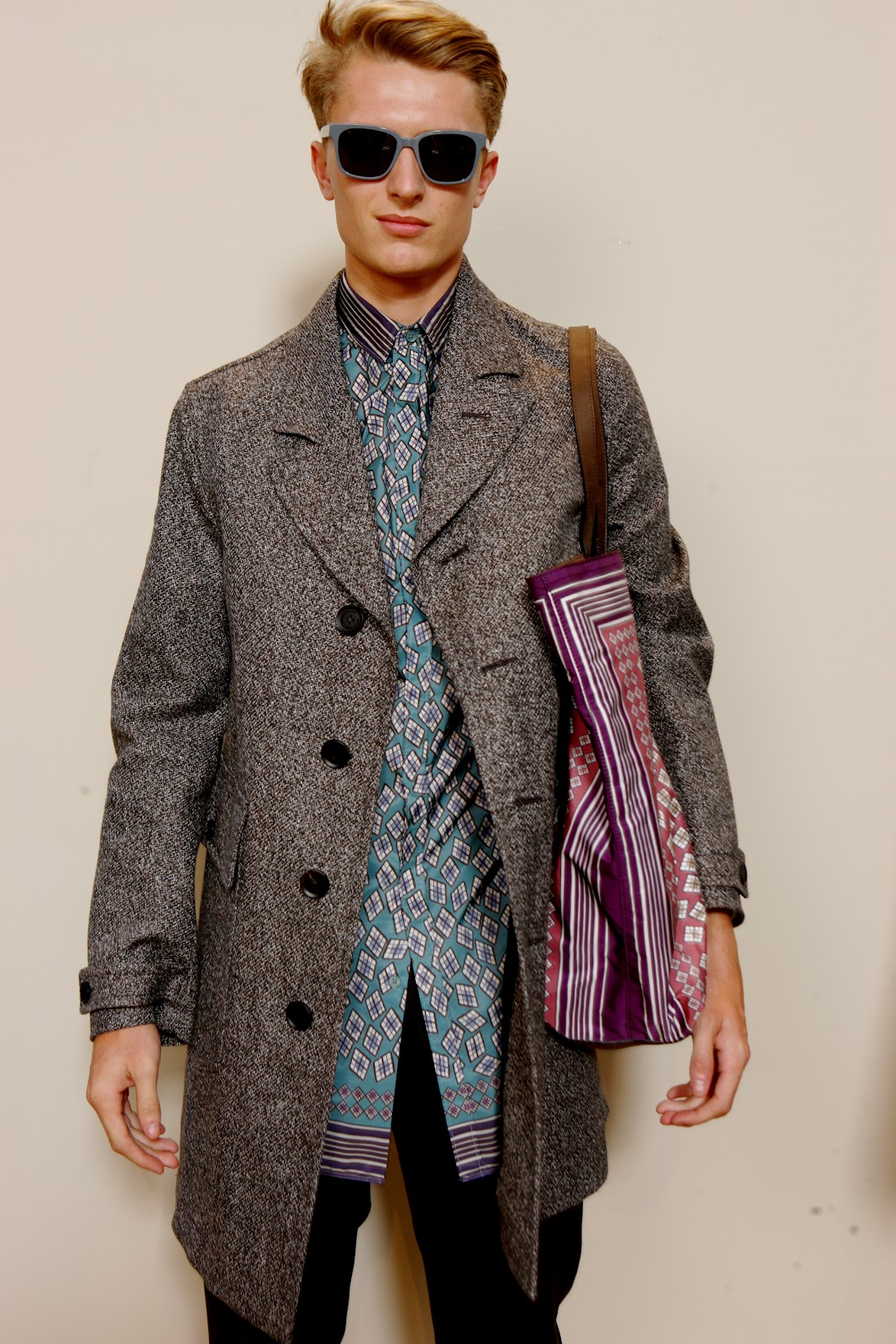 00o00 london menswear blog fashion style Burberry Prorsum Spring Summer 2013 SS2013 George Craig Rob Pryor and Roo Panes