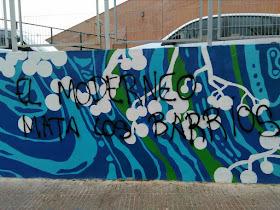 Vandalismo en el Mural de las Flores