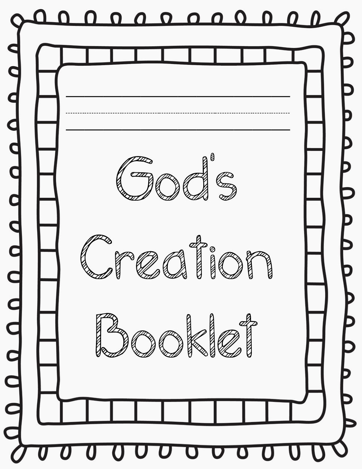 Free Coloring Pages Of God Made All Things
