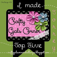 top 5 Crafty Gals Corner challenge nº48