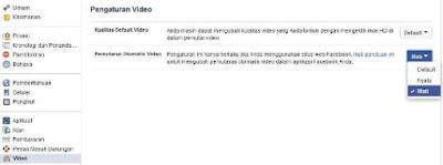 Cara Menghentikan Autoplay Video pada Facebook