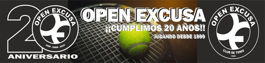 TENIS: Open Excusa