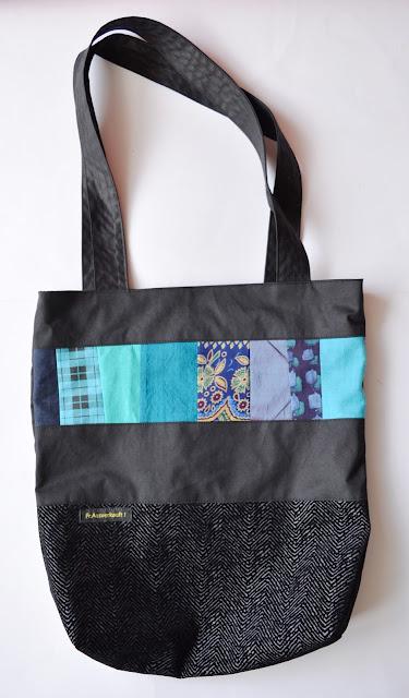 [Nähen] Patchworktasche für mich