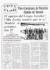 COLEGIO DE VILLA JOVITA EN TVE