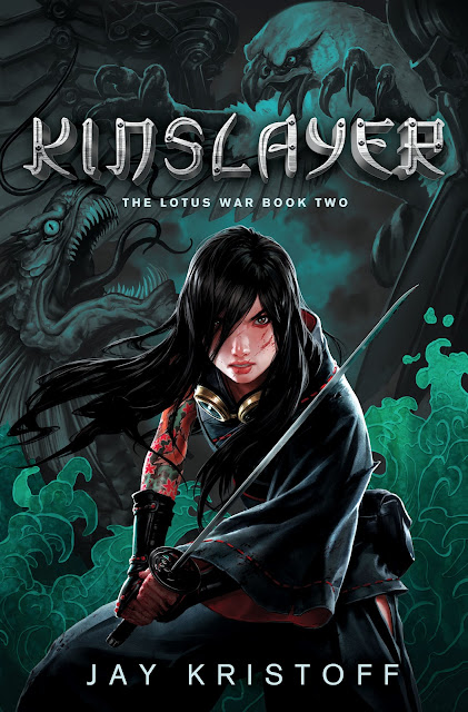 Kinslayer (The Lotus War #2): Cover Reveal and Giveaways!