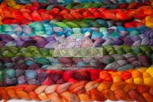 Orphans/Handdyed wool