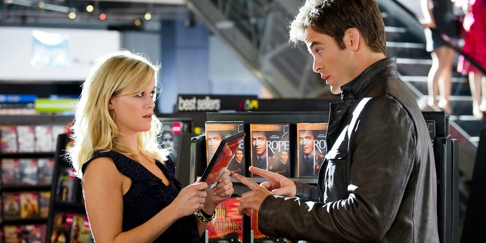 Reese Witherspoon e Chris Pine em GUERRA É GUERRA! (This Means War)