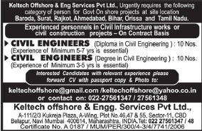 Keltech offshore civil engineers