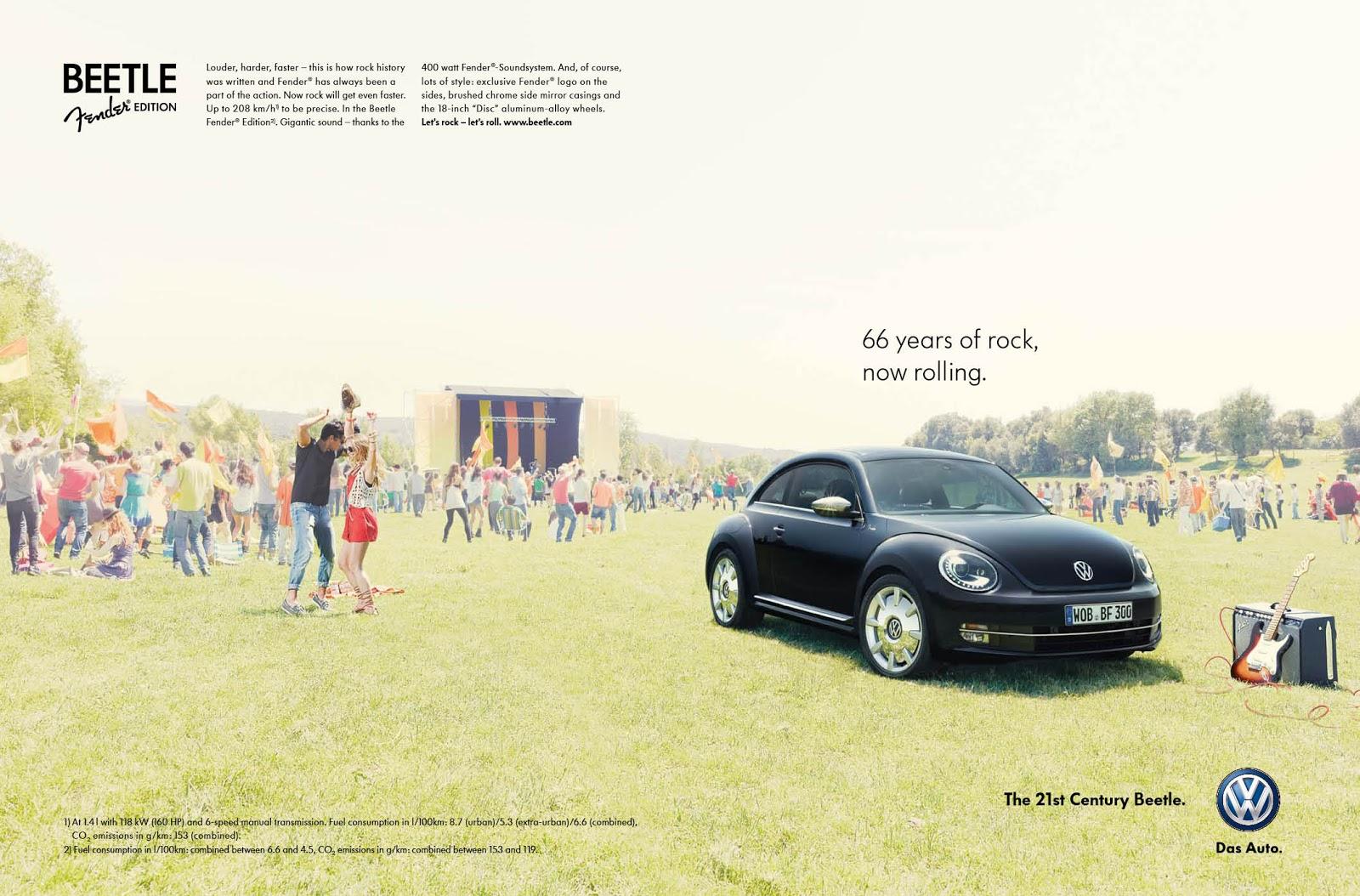 volkswagen vw beetle fender edition print ads   sorry