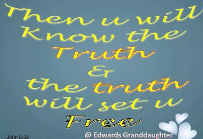 John 8:32, Edwards Granddaughter
