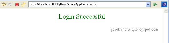 Basic Struts Login Application_002