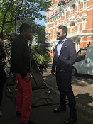 Ntr Sukumar Movie working stills-thumbnail-1
