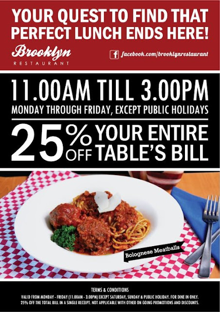 149748 10150884619093648 107884998647 9341239 447260768 n Lunch Promo at Brooklyn Restaurant at1 Borneo, Sabah