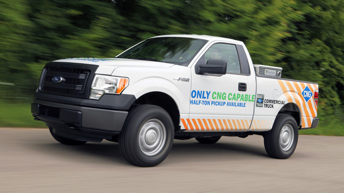 CNG-Compatible Ford F-150 To Be Sold in 2014