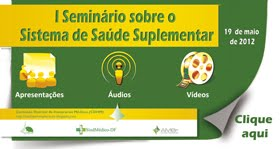 Anais do I Seminário sobre o Sistema de Saúde Suplementar do Distrito Federal