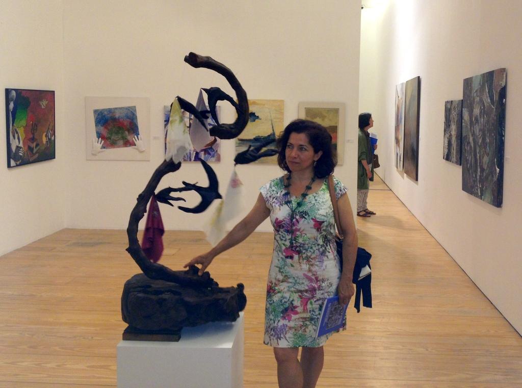 Exposição colectiva da: ARVORE - Porto