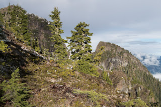 Queen Peak Vancouver Island, Hiking