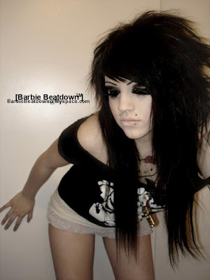 Peinados góticos para mujeres
