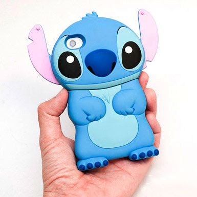 Review: เคส iPhone 4/4s ตัวการ์ตูนสติชท์ Stitch 3D