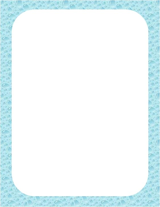 Water Page Border You can click the picture