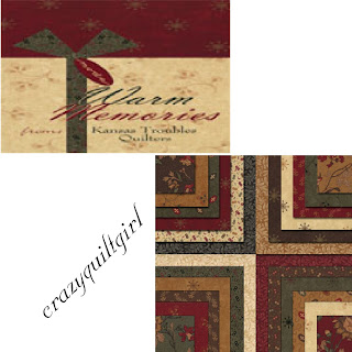 Moda WARM MEMORIES Christmas Quilt Fabric by Kansas Troubles Quilters