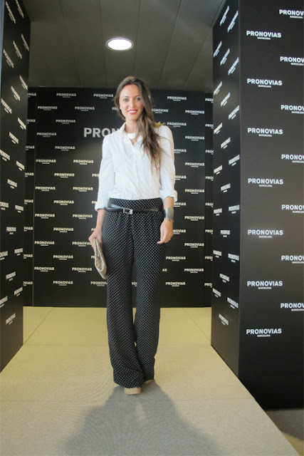 Look of the week – Pantalón de lunares