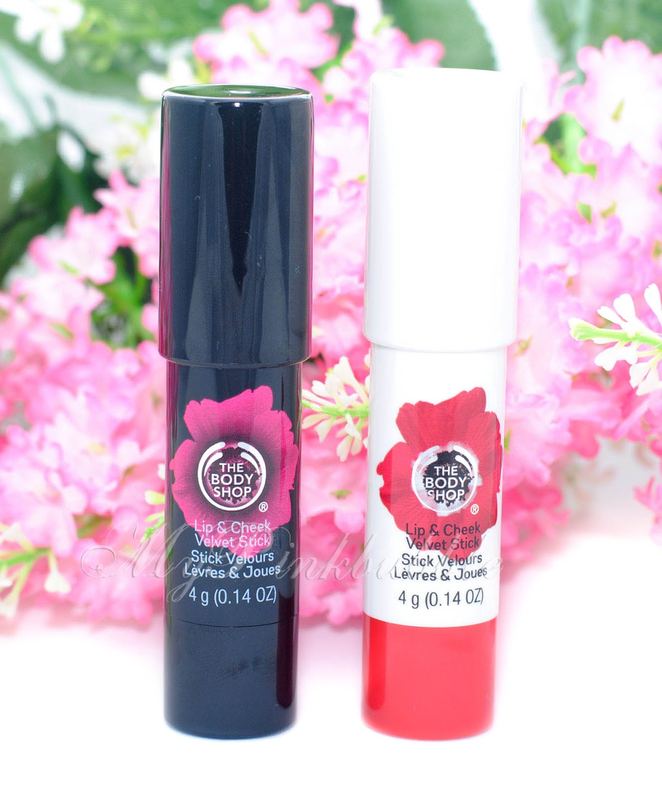 Body shop stick velvet colour para mejillas y labios