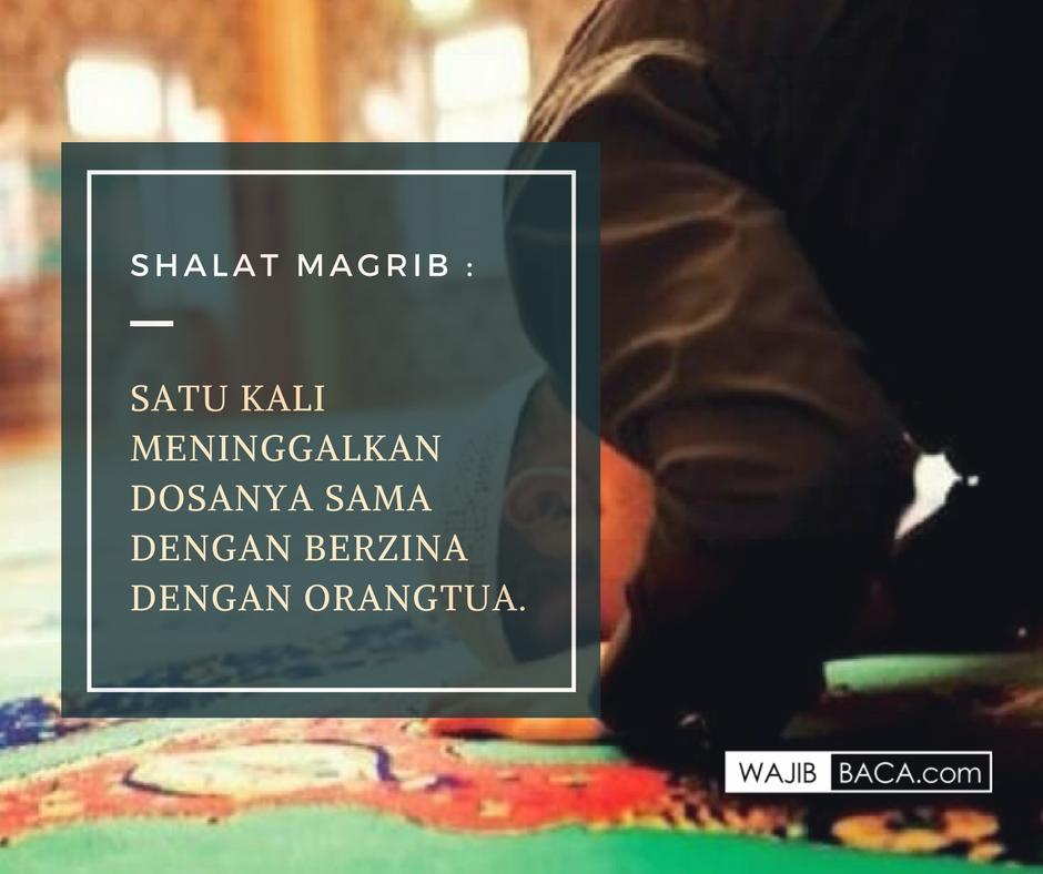 Tata Cara Sholat Maghrib Lengkap Beserta Niat Bacaan Dan
