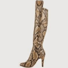 winter shoe guide, winter boots for women, top boots for women, stylish boots for women, otk boots, animal print boots, over the knee boots, cute over the knee boots, snakeskin boots, jewels with style, style blog