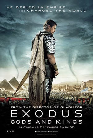 Exodus: Gods and Kings 2015 poster