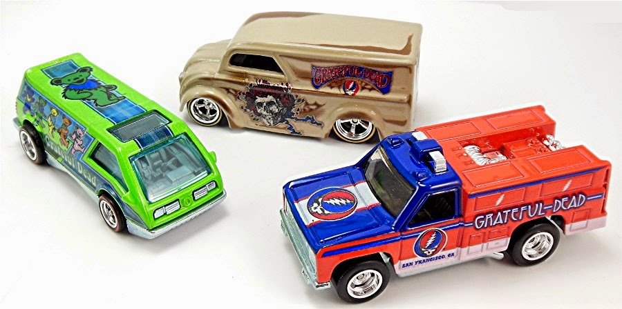 Grateful Dead Hot Wheels