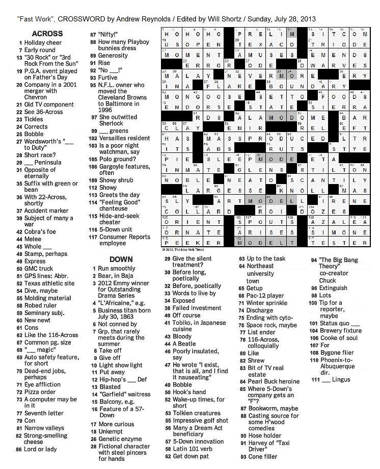New+York+Times+Crossword+by+Andrew+Reynolds+edited+by+Will+Shortz
