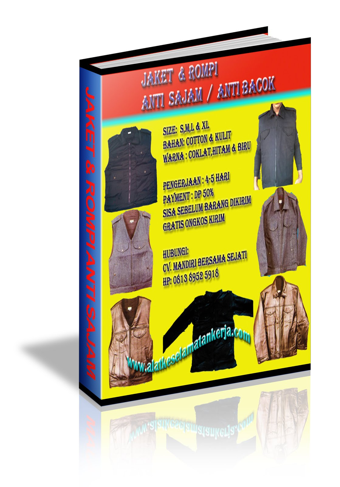 JAKET ANTI SAJAM