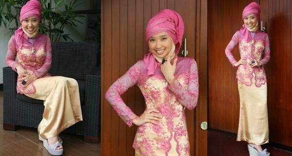 Model kebaya wisuda muslim modern nan modis