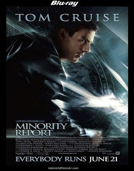Azınlık Raporu - Minority Report - 1080p - 720p - Türkçe Dublaj - Tek Link indir