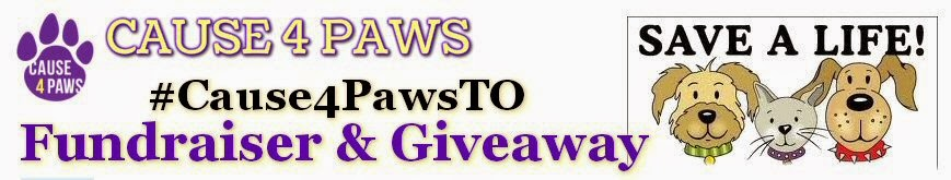 #Cause4PawsTO Fundraiser & Giveaway