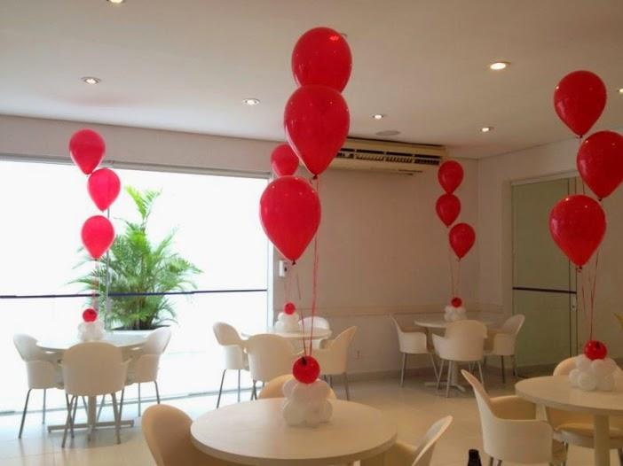 Decoracion de mesas con globos awesome globos with - Decoracion mesa centro ...